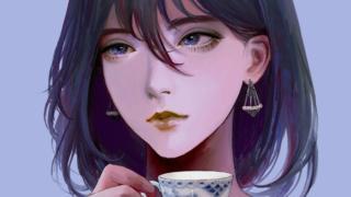 愛用のティーカップをモデルにアイコン画像を書いてもらいました。