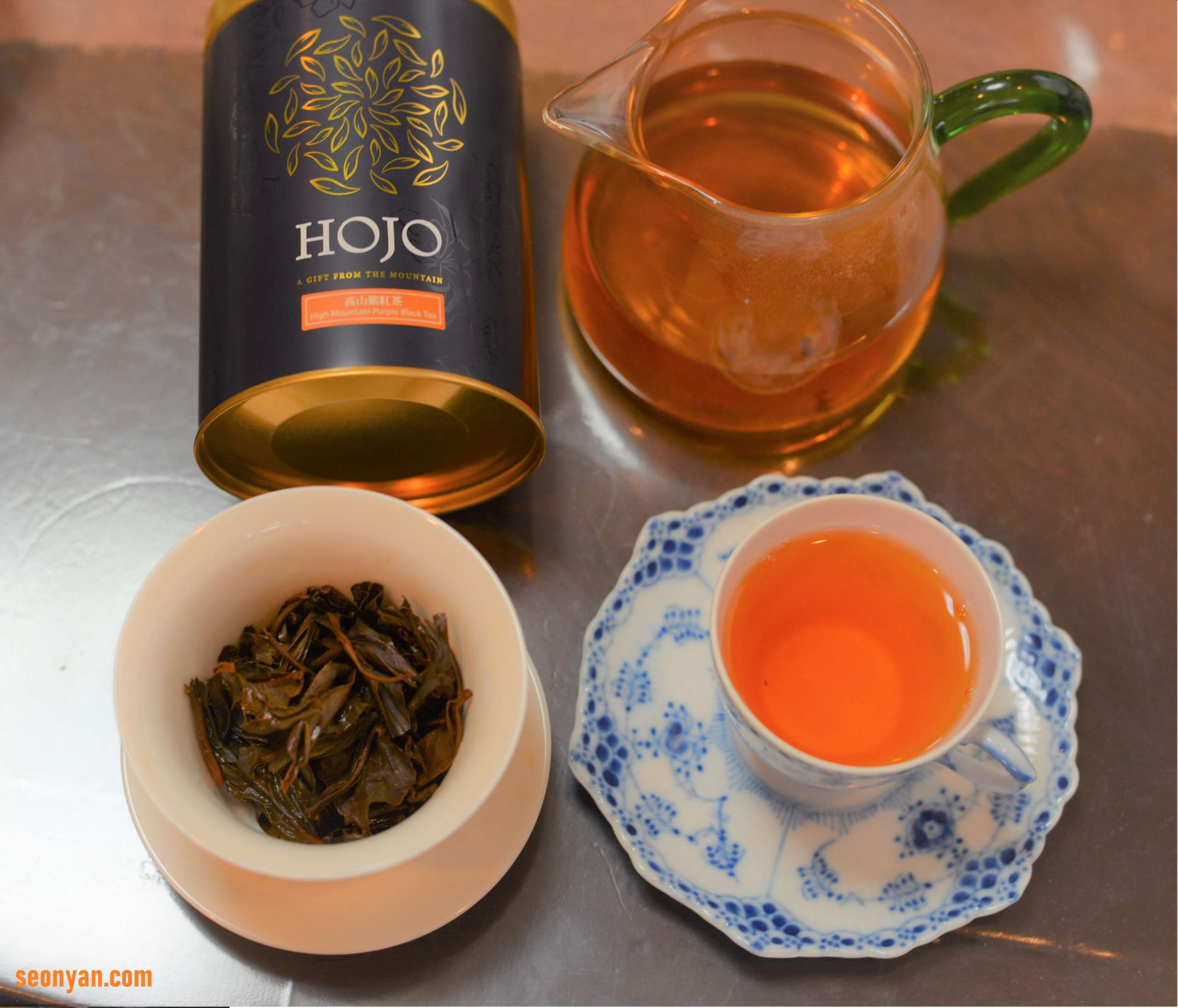 高山紫紅茶