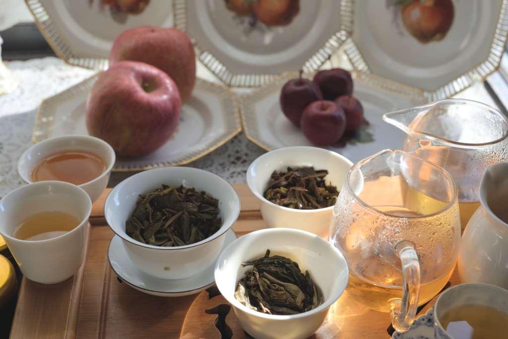 HOJOのプーアル生茶を3種類飲む