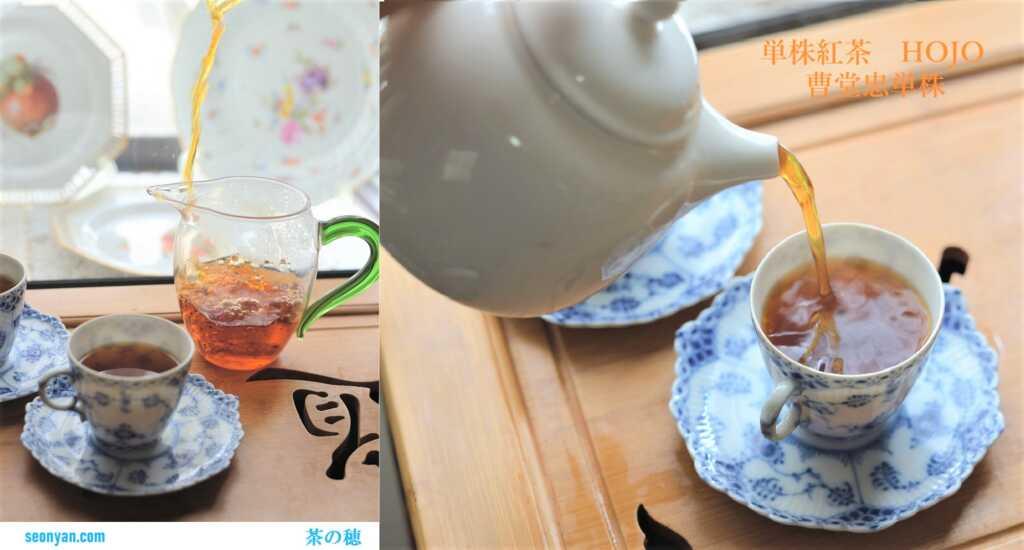 単株紅茶を飲む