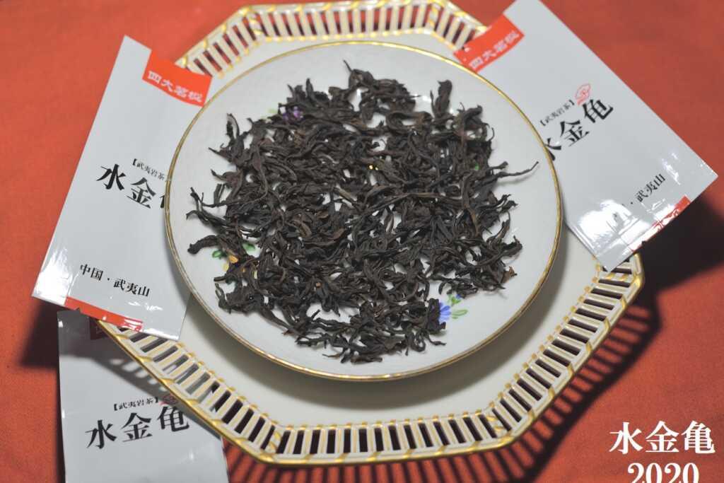 水金亀2020年産茶葉の様子